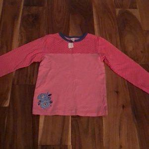 Carters pink long sleeve top